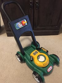 Both Kids  Lawn mower and phone