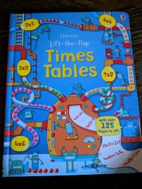 Usborne lift the flap Times Tables book