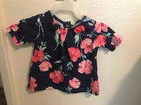 Floral 6 month baby top  Puyallup, 98372
