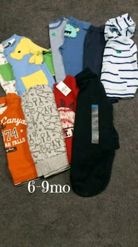 Baby boy 6-9mo fall clothing, several new $15 Monroeville, 15146