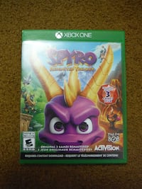 Spyro Reignited Trilogy - Xbox One - $18 (buy or trade)
