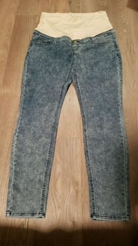Thyme maternity large jeans