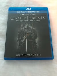 Game of Thrones: The Complete First Season (Blu-Ray + Digital HD)