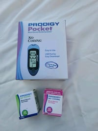 Glucose meter and strips