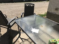 Patio table and chairs Nanton, T0L 1R0