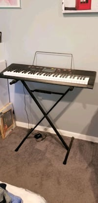 Keyboard with Stand and music book Casio Ctk 2090