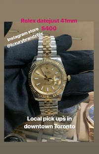 R./E./p./L./I./cA Rolex datejust watch Automatic Watch gold bracelet gold watch men's watch omega Hublot  Toronto, M5V 3Z2