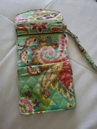 green, pink, and yellow floral Vera Bradley wristlet Ashland, 41101