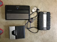 3 car stereo amps