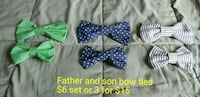 Father and son bow ties West Columbia