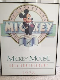Mickey Mouse framed picture Fairfield, 94533