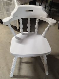 Set of Two Antique Chairs. Refinished