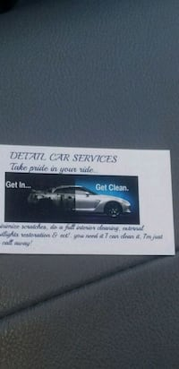 Sparkle car care details great service great job ! Sterling, 20166