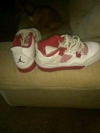 white-and-red Air Jordan 4 Alternate 89 shoes Louisville, 40202
