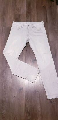 Men's Light Grey Slim Straight Pants  North York, M3K 2C1