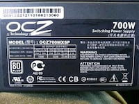 black OCZ switching power supply box Las Vegas, 89119