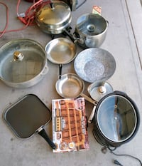 stainless steel cooking pot lot Cottonwood, 86326