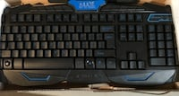 RUYINIAO Backlight Wired Gaming Keyboard with Optical Mouse - never been used Attleboro, 02703