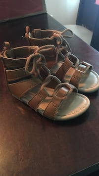 Toddler size 6 gladiator sandals Myrtle Beach, 29588