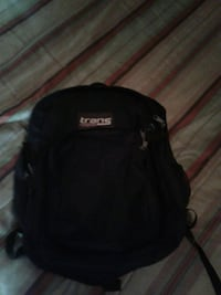 black and white Jansport backpack Centreville