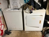 white washer and dryer set Austin, 78745