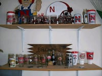 Nebraska Cornhuskers mugs, cups, glasses, etc.
