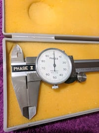 "Phase II 2 Shock Proof Dial Caliper .001"" to 6"" Scottsdale, 85260"