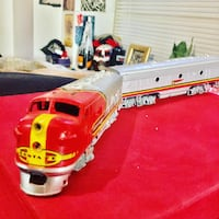Model freight train cars