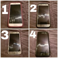 black Samsung Galaxy android smartphone collage Innisfil, L9S 2H6