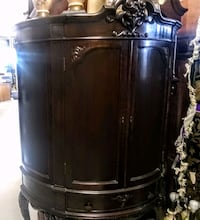 black wooden cabinet with mirror Cape Coral, 33904
