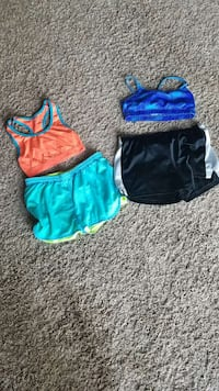 Girls shorts|Sports bras|Puma|Justice|old navy