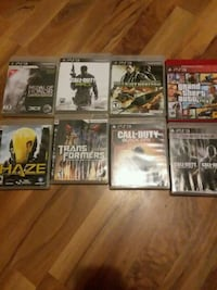 assorted PS3 game case lot Omaha, 68105