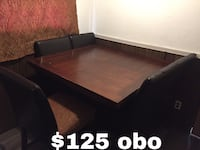 Large Kitchen Table w/ 3 chairs & bench seat  Augusta, 30906
