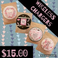 Wireless cellphone chargers Toronto, M6L 1G1