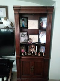 brown wooden shelving unit San Antonio, 78247