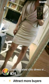 Sophisticated chic dress size small 4-6 Toronto, M3C 2J2