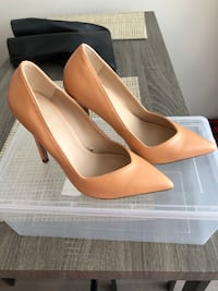 Zara heels - size 36 used once  Vancouver, V5S