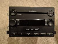 Ford Mustang Shaker 500 6 Disc Changer Head Unit ANNAPOLIS