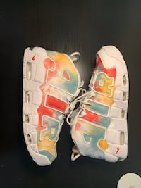Size 11.5 UK Nike uptempos (also very limited release) Newmarket, L3X 0K3