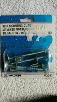 Sink mounting clips (Moen) NEW Vancouver, V5T 2M9