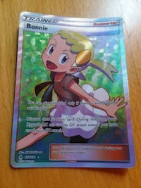 Full art Bonnie Card Woodbine, 21797