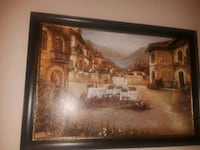 black wooden painting frame Colorado Springs, 80923