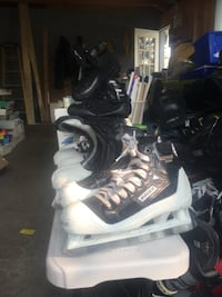 Goalie hockey skates, assorted sizes Alpena, 49707
