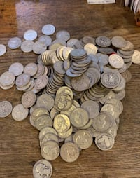 Large lot of silver quarters and half Point Pleasant, 08742