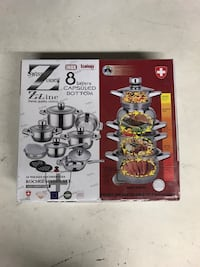 Zurich Swiss 16 piece pot set King, L7B 1L1