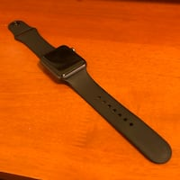 black Apple watch with black sports band Gaithersburg, 20878