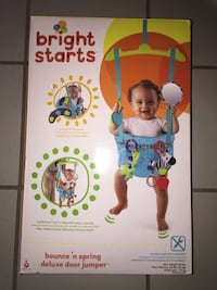 Bright Starts bounce 'n spring deluxe door jumper box Milton, L9T 3M8