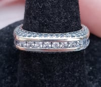Gorgeous Grace Squared 925 Sterling silver band Baltimore