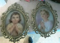 two round silver-colored photo frames Englewood, 80113