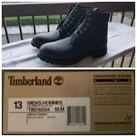 "Timberland Men's Icon 6"" Boots - Black Richmond, V6X 4C6"